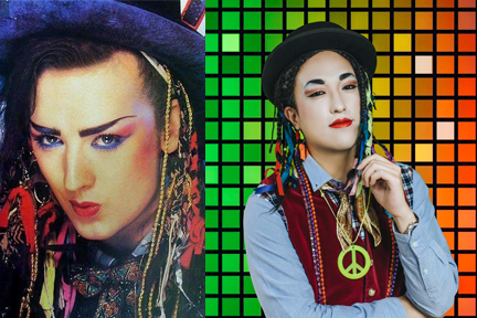 《Karma Chameleon》的 Culture Club - Boy George VS AM1470 DJ 吳亮霆