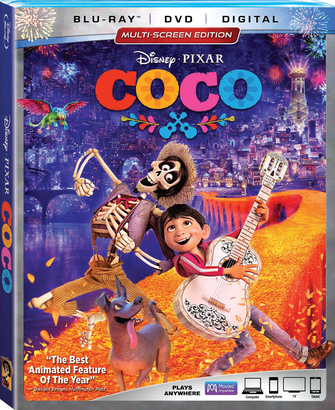 DVD  請你看好戲 《COCO》 + 《LADY AND THE TRAMP》
