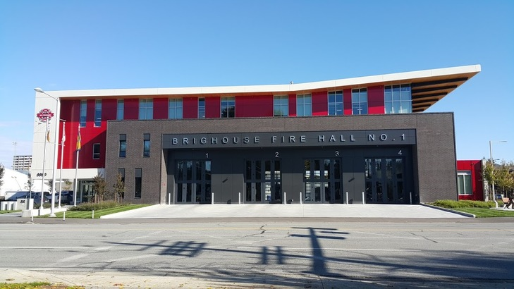 Brighouse Fire Hall No. 1。