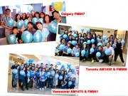 Fairchild Radio Wraps Up Autism Awareness Week with a Sea of Blue Balloons