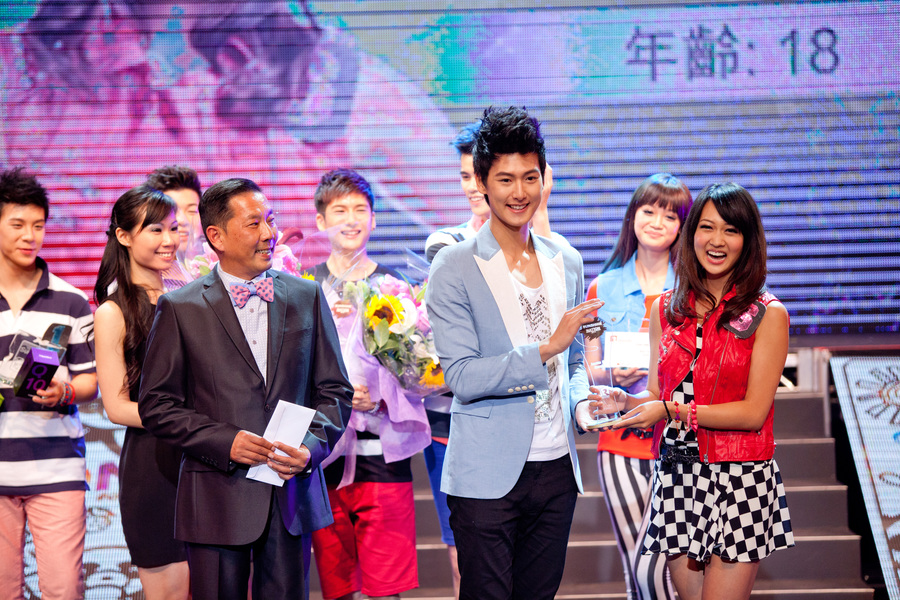 Sunshine Nation 2013 決賽台上
